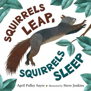 Squirrels leap, squirrels sleep - April Pulley Sayre