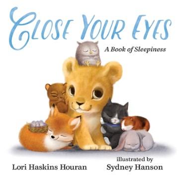 Close your eyes : a book of sleepiness - Lori Haskins Houran