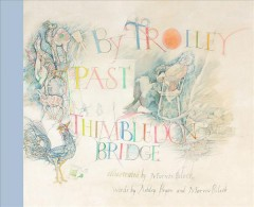 By trolley past Thimbledon Bridge - Ashley Bryan