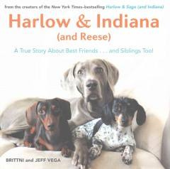 Harlow & Indiana - and Reese : A True Story About Best Friends...and Siblings Too! - Brittni Vega