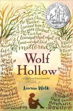 Wolf Hollow : a novel - Lauren Wolk