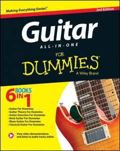 Guitar All-In-One For Dummies Book + Online Video & Audio Instruction