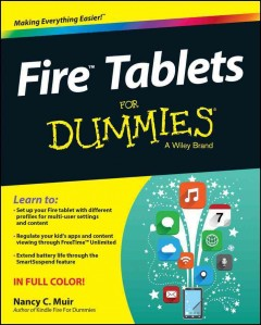 Fire tablets for dummies - Nancy Muir