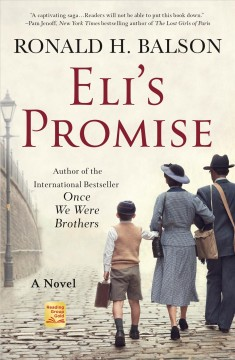 Eli's promise : a novel - Ronald H Balson