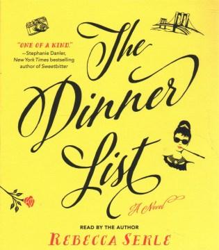 The dinner list - Rebecca Serle
