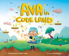 Ava in code land - Jess Hitchman