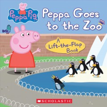 Peppa goes to the zoo.