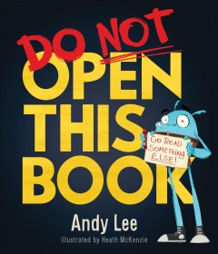 Do not open this book - Andy.author Lee