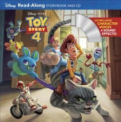 Toy Story 4 : read-along storybook and CD