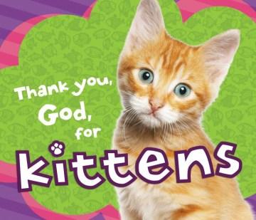 Thank you, God, for kittens.