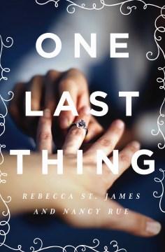 One last thing - Nancy N Rue