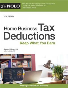 Home Business Tax Deductions + Website : Keep What You Earn - Stephen Fishman