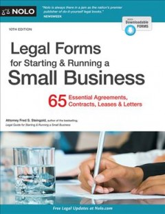 Legal forms for starting & running a small business  - Fred S Steingold