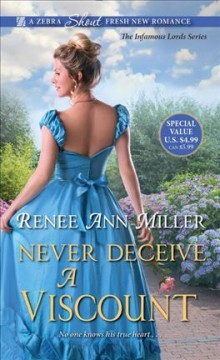 Never Deceive a Viscount - Renee Ann Miller