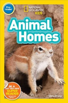 Animal homes - Shira Evans