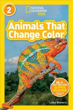 Animals that change color - Libby Romero