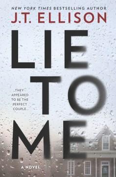 Lie to me - J. T Ellison