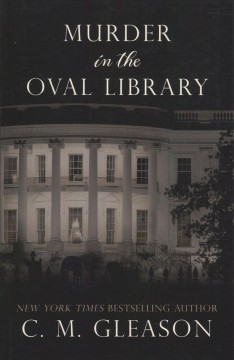 Murder in the Oval Library - Colleen Gleason