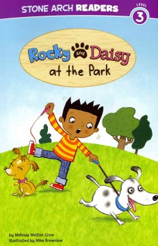 Rocky and Daisy at the park - Melinda Melton Crow