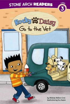 Rocky and Daisy go to the vet - Melinda Melton Crow