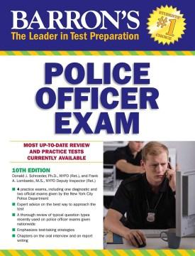 Barron's Police Officer Exam - Donald J Schroeder