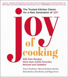 Joy of cooking - Irma S Rombauer