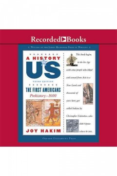 The first Americans - Joy Hakim