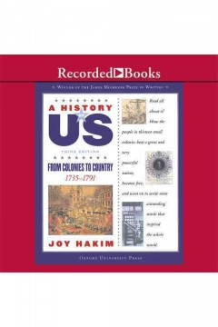 From colonies to country - Joy Hakim