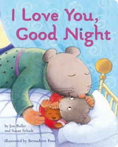 I love you, good night - Jon Buller