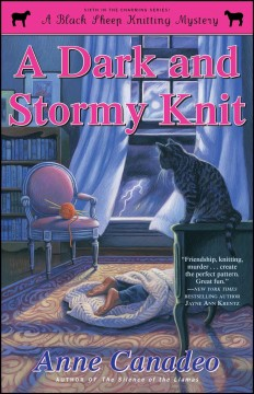 A dark and stormy knit - Anne Canadeo