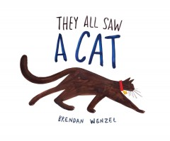 They all saw a cat - Brendan Wenzel