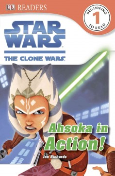 Star Wars, the clone wars. Ahsoka in action! - Jon Richards
