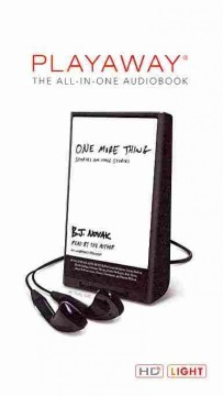 One more thing : stories and other stories - B. J Novak