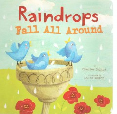 Raindrops fall all around - Charles Ghigna