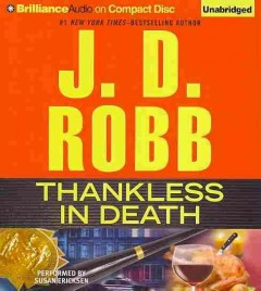 Thankless in death - J. D Robb