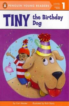 Tiny the birthday dog - Cari Meister
