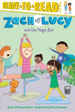 Zach and Lucy and the yoga zoo - author Pifferson Sisters