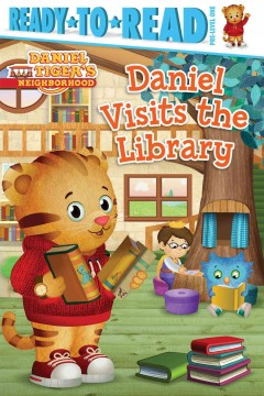 Daniel visits the library - Maggie Testa