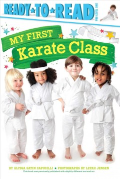 My first karate class - Alyssa Satin Capucilli