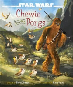 Chewie and the porgs - Kevin Shinick