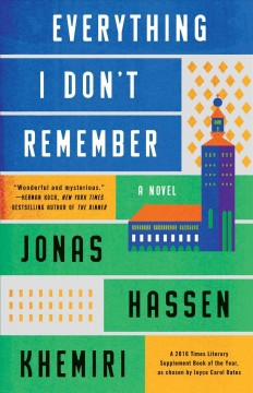Everything I don't remember - Jonas Hassen Khemiri