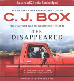The disappeared - C. J Box