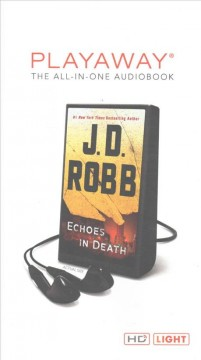 Echoes in death - J. D Robb