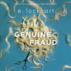 Genuine fraud - E Lockhart