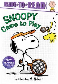 Snoopy came to play - Tina Gallo