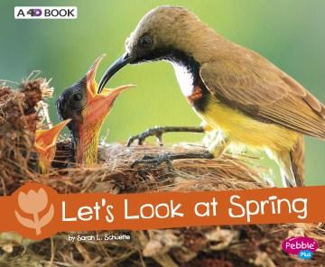 Let's look at spring - Sarah L Schuette
