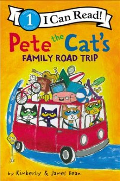 Pete the Cat's family road trip - Kim Dean