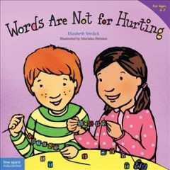 Words are not for hurting - Elizabeth Verdick