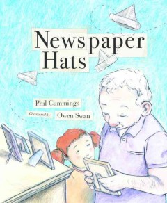 Newspaper hats - Phil Cummings