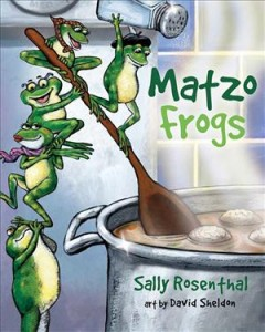 Matzo frogs - Sally Rosenthal